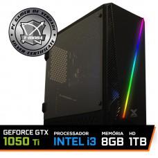 Pc Gamer T-Moba Gladiator LVL-1 Intel I3 9100F / Geforce GTX 1050 TI 4GB / DDR4 8GB / HD 1TB