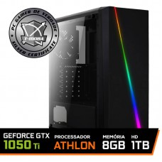 Pc Gamer T-moba Furious LVL-2 AMD Athlon 200GE / Geforce Gtx 1050 Ti / DDR4 8GB / HD 1TB / 500W