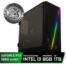 Pc Gamer T-Moba Gladiator LVL-3 Intel I3 9100F / Geforce GTX 1660 Super 6GB / DDR4 8GB / HD 1TB