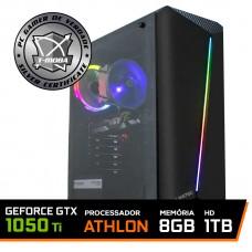 Pc Gamer T-Moba Gladiator LVL-1 AMD Athlon 3000G / Geforce Gtx 1050 Ti / DDR4 8GB / HD 1TB