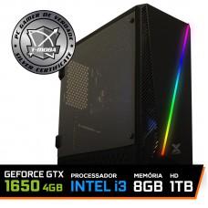 Pc Gamer T-Moba Gladiator LVL-2 Intel I3 9100F / Geforce GTX 1650 4GB / DDR4 8GB / HD 1TB