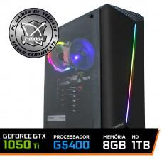 Pc Gamer T-Moba Gladiator Lvl-3 Intel Pentium G5400 / Geforce GTX 1050 Ti 4GB / DDR4 8GB / HD 1TB
