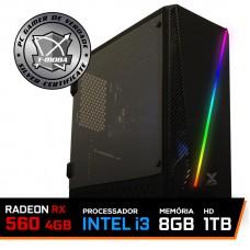 Pc Gamer T-moba Gladiator LVL-5 Intel I3 9100F / Radeon Rx 560 4GB / DDR4 8GB / HD 1TB