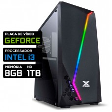 Pc Gamer T-Moba Rival LVL-1 Intel Core i3 / Nvidia GeForce / DDR4 8GB / HD 1TB
