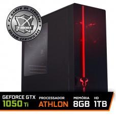 Pc Gamer T-Moba Super Furious LVL-2 AMD Athlon 3000G / Geforce Gtx 1050 Ti / DDR4 8GB / HD 1TB