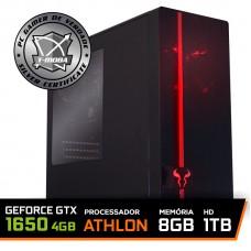 Pc Gamer T-moba Super Furious LVL-3 AMD Athlon 3000G / Geforce Gtx 1650 4GB / DDR4 8GB / HD 1TB
