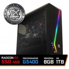 Pc Gamer T-Moba Super Starting Now Intel Pentium G5400 / Radeon Rx 550 4GB / DDR4 8GB / HD 1TB