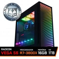 Pc Gamer T-Power Destroyer Lvl-1 AMD Ryzen 7 3800X / Radeon Vega 56 8GB / DDR4 16GB / HD 1TB / 600W