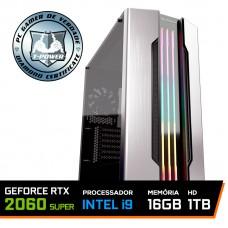 Pc Gamer T-Power Inferno LVL-2 Intel I9 9900KF 3.60GHz / Geforce RTX 2060 6GB Super / DDR4 16GB / HD 1TB / 750W