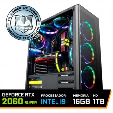 Pc Gamer T-Power Inferno LVL-2 Intel I9 9900K 3.60GHz / Geforce RTX 2060 Super / DDR4 16GB / HD 1TB / 750W