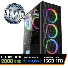 PC Gamer T-Power Inferno LVL-3 Intel I9 9900KF 3.60GHZ / Geforce RTX 2080 8GB / DDR4 16GB / HD 1TB / 600W