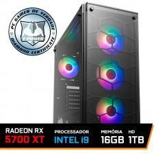 Pc Gamer T-Power Inferno LVL-3 Intel I9 9900K 3.60GHz / Radeon RX 5700 XT 8GB / DDR4 16GB / HD 1TB / 750W