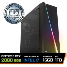 Pc Gamer T-Power Insane Lvl-3 Intel I7 8700k / Geforce RTX 2080 8GB / DDR4 16GB / HD 1TB / 700W