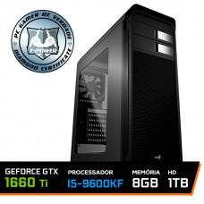Pc Gamer T-power Glorious Edition Intel I5 9600kf / Gtx 1660 Ti 6gb / DDR4 8Gb / Hd 1tb / 600W