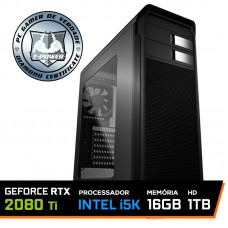 Pc Gamer T-Power Maximus LVL-4 Intel i5 9600k / Geforce RTX 2080 TI 8GB / DDR4 16GB / HD 1TB / 650W