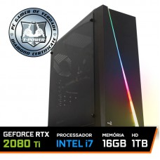 Pc Gamer T-Power Insane Lvl-4 Intel I7 8700k / Geforce RTX 2080 Ti 11GB / DDR4 16GB / HD 1TB / 700W