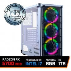 PC Gamer T-Power Special Edition Intel I7 9700K 3.60GHz / Radeon RX 5700 8GB / 8GB DDR4 / HD 1TB / 600W