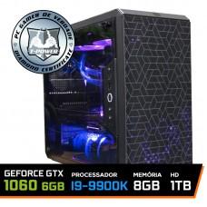 PC Gamer T-Power Special Edition Intel I9 9900K 3.60GHz / GTX 1060 6GB / DDR4 8GB / HD 1TB / 600W