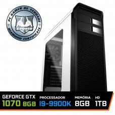 PC Gamer T-Power Special Edition Intel I9 9900K / Gtx 1070 8Gb / DDR4 8GB / HD 1TB / 600W