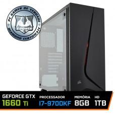Pc Gamer T-power Special Edition Intel I7 9700KF 3.60GHz / GeForce GTX 1660 Ti 6GB / DDR4 8GB / HD 1TB / 600W