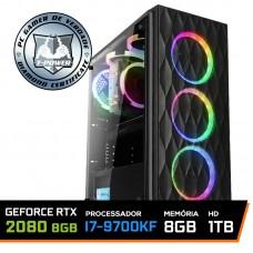 Pc Gamer T-power Special Edition Intel I7 9700KF 3.60GHz / GeForce RTX 2080 8Gb / 8Gb DDR4 / Hd 1Tb / 600W
