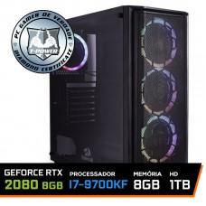 Pc Gamer T-power Special Edition Intel I7 9700KF 3.60GHz / GeForce RTX 2080 8Gb / 8Gb DDR4 / Hd 1Tb / 750W