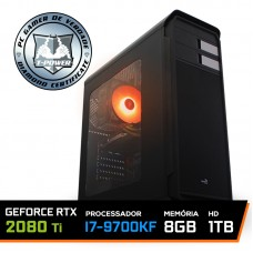 Pc Gamer T-power Special Edition Intel I7 9700KF 3.60GHz / GeForce RTX 2080 Ti 11Gb / 8Gb DDR4 / Hd 1Tb / 600W