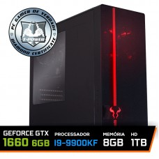 Pc Gamer T-power Special Edition Intel I9 9900KF 3.60GHz / GeForce GTX 1660 6GB / 8gb Ddr4 / Hd 1tb / 600W