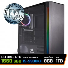 Pc Gamer T-power Special Edition Intel I9 9900KF 3.60GHz / GeForce GTX 1660 6GB / 8gb Ddr4 / Hd 1tb / 600W