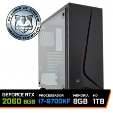 PC Gamer T-Power Special Intel I7 9700KF 3.60GHz / GeForce RTX 2060 6GB / 8GB DDR4 / HD 1TB / 600W