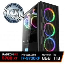 PC Gamer T-Power Special Intel I7 9700KF 3.60GHz / Radeon NAVI RX 5700 XT 8GB / 8GB DDR4 / HD 1TB / 600W