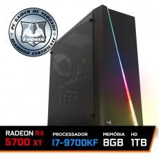 PC Gamer T-Power Special Intel I7 9700KF 3.60GHz / Radeon NAVI RX 5700 XT 8GB / 8GB DDR4 / HD 1TB / 700W