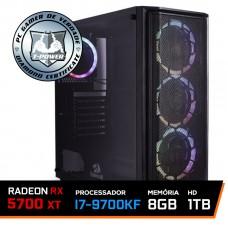 PC Gamer T-Power Special Intel I7 9700KF 3.60GHz / Radeon NAVI RX 5700 XT 8GB / 8GB DDR4 / HD 1TB / 750W
