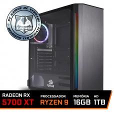 Pc Gamer T-Power Stormbreaker Lvl-3 AMD Ryzen 9 3900X / Radeon RX 5700 XT 8GB / DDR4 16GB / HD 1TB / 700W