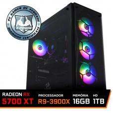 Pc Gamer T-Power Stormbreaker Lvl-4 AMD Ryzen 9 3900X / Radeon NAVI RX 5700 XT 8GB / DDR4 16GB / HD 1TB / 650W