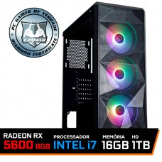 Pc Gamer T-Power Strong Lvl-2 Intel Core i7 10700 / Radeon RX 5700 8GB / DDR4 16GB / HD 1TB / 600W
