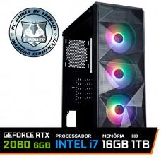 Pc Gamer T-Power Strong Lvl-5 Intel Core i7 10700 / Geforce RTX 2060 6GB / DDR4 16GB / HD 1TB / 600W