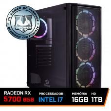 PC Gamer T-Power Captain Lvl-1 Intel I7 9700KF 3.60GHz / Radeon RX 5700 8GB / 16GB DDR4 / HD 1TB / 600W