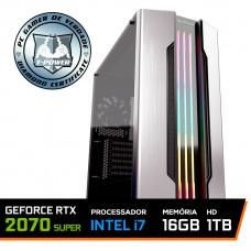 PC Gamer T-Power Captain Lvl-4 Intel I7 9700K 3.60GHz / Geforce RTX 2070 Super / 16GB DDR4 / HD 1TB / 600W