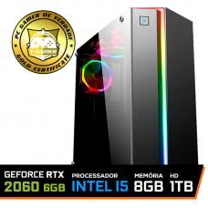 Pc Gamer T-Soldier Lvl-4 Intel Core i5 9400F / GeForce RTX 2060 6GB / DDR4 8Gb / HD 1TB / 500W