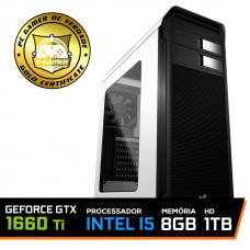 Pc Gamer T-soldier Lvl-4 Intel Core i5 9400F / GeForce GTX 1660 Ti 6GB / DDR4 8GB / HD 1TB / 500W