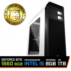 Pc Gamer T-soldier Lvl-2 Intel Core i5 9400F / GeForce GTX 1660 6GB / DDR4 8GB / HD 1TB / 500W