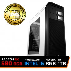 Pc Gamer T-Soldier Lvl-7 Intel Core i5 9400F / RADEON RX 580 8GB / DDR4 8GB / HD 1TB / 500W