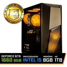 Pc Gamer TUF Edition Intel Core i5 9400F / GeForce GTX 1660 6GB / DDR4 8GB / HD 1TB / 550W