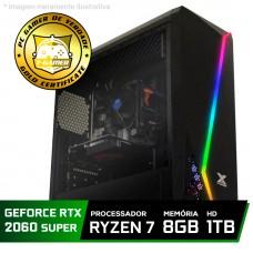 Pc Gamer Tera Edition Amd Ryzen 7 2700 / GeForce RTX 2060 Super / DDR4 8GB / HD 1TB / 600W