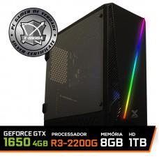 Pc Gamer T-Moba Dominator LVL-3 AMD Ryzen 3 2200G / Geforce GTX 1650 4GB / DDR4 8GB / HD 1TB