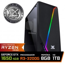 Pc Gamer T-Moba Super Dominator LVL-6 AMD Ryzen 3 3200G / Geforce GTX 1650 4GB / DDR4 8GB / HD 1TB / 500W / RZ3