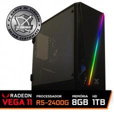 Pc Gamer T-Moba Ultimate LVL-1 AMD Ryzen 5 2400G / DDR4 8GB / HD 1TB