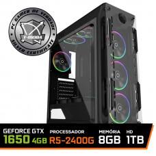 Pc Gamer T-Moba Ultimate LVL-3 AMD Ryzen 5 2400G / Geforce GTX 1650 4GB / DDR4 8GB / HD 1TB