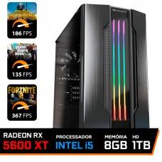 Pc Gamer Maximus LVL-4 Intel i5 9600KF / Radeon RX 5600 XT 8GB / DDR4 8GB / HD 1TB / 600W